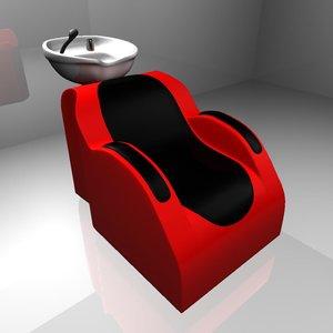 shampoo station 3d model