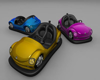 bumper car toy 3d 3ds