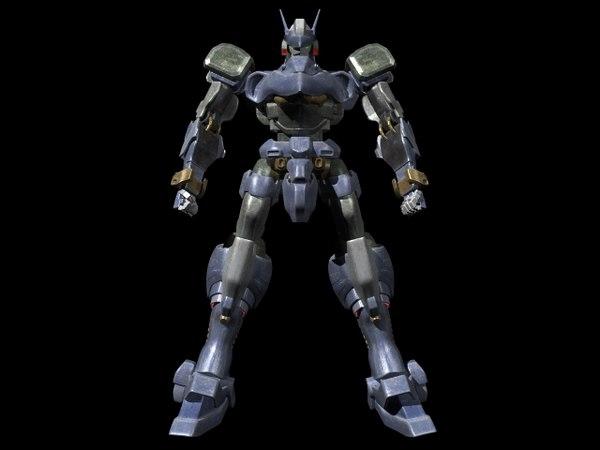 robot 3d lwo