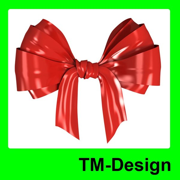 gift ribbons bows obj