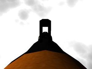 rocket grenade 3d lwo