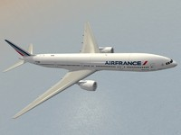 air france new colors 3d model