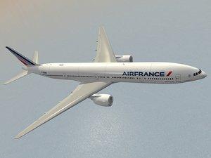 air france new colors 3d model