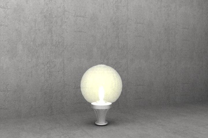 3ds antique luminaire s18