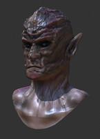 alien nasty 3d model