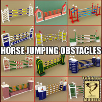 Horse Jumping Obstacles Collection