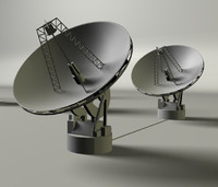 antenna array 3d model