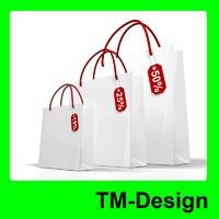 White Shop Bag