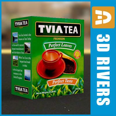 tea box 3d model