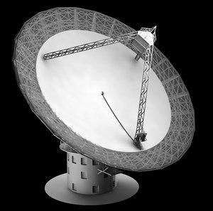 3dsmax satellite dish