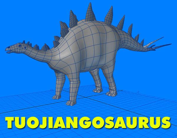 tuojiangosaurus 3d 3ds