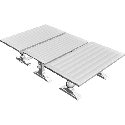 3d model of outdoor tables