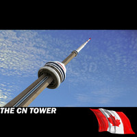 3ds max cn tower
