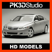 3d model lexus gs 450h 2010
