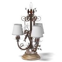 3d mechini table lamp model