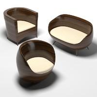 3d model outdoor exterior wooden