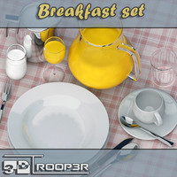 3d tableware set