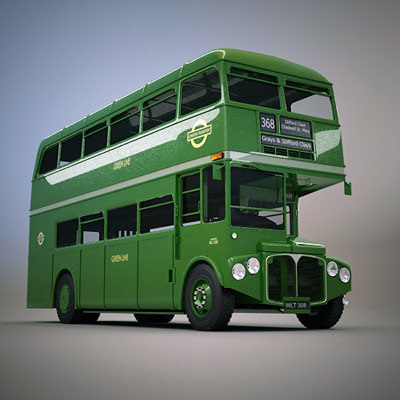 max classic routemaster green line