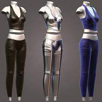 maya female clothing pants shirt