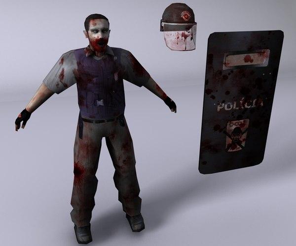 c4d zombie