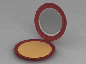 3ds max powder-box box powder