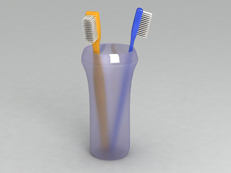 3ds max tooth brush toothbrushes