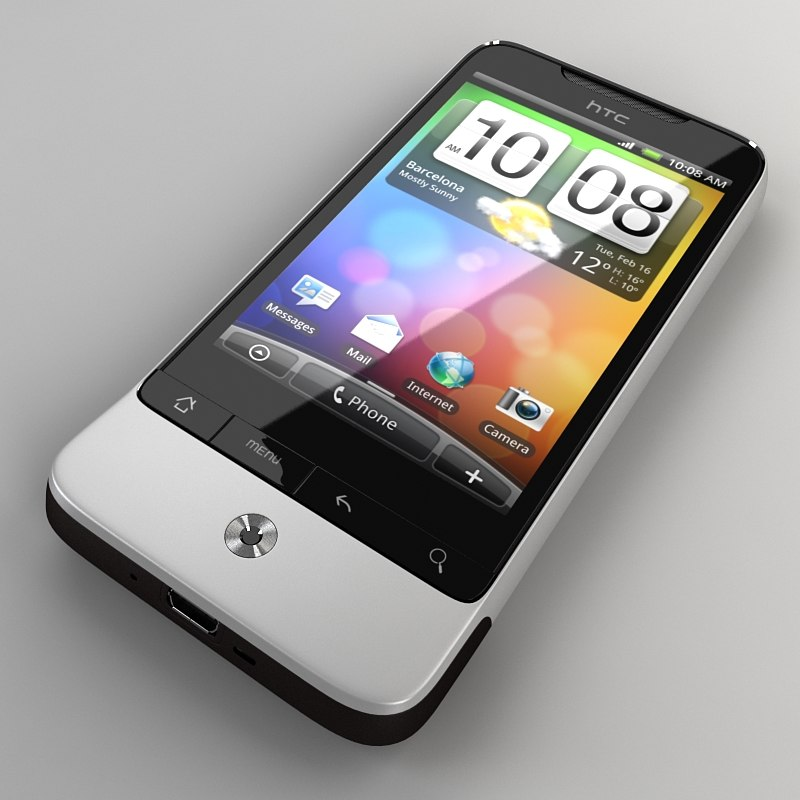 htc legend 3d model
