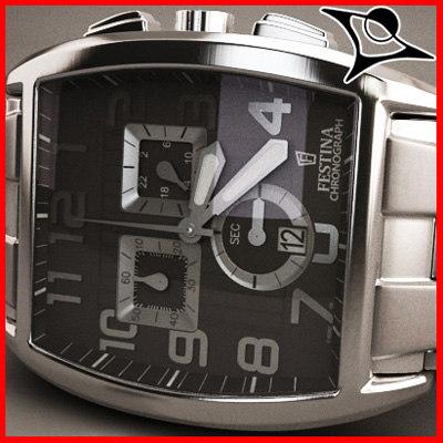 festina watch 3d model