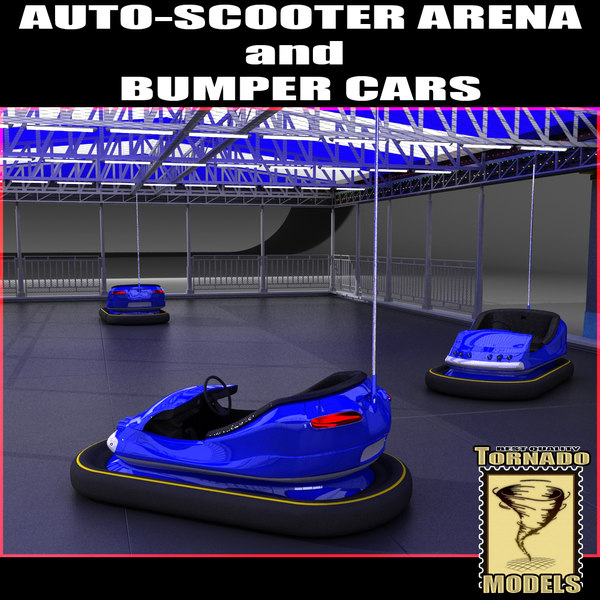 3d auto-scooter bumper cars auto