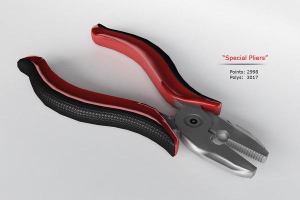special pliers 3d model