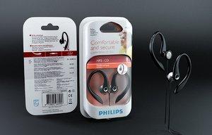 headphone philips earphones 3d model