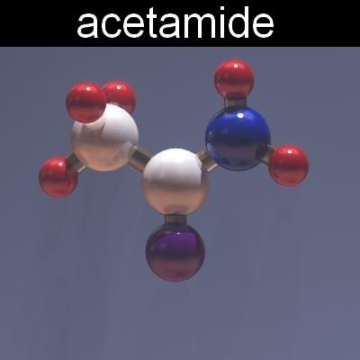 acetamide 3d model