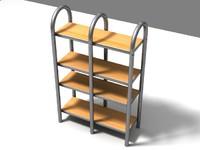 3ds bookcase book
