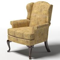 3d model drexel upholstery randolph