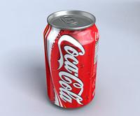 3d drink model