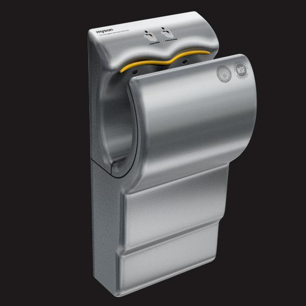 modern hand dryer 3d model