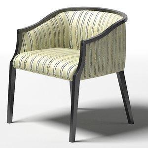 mobilidea chair armchair 3d model