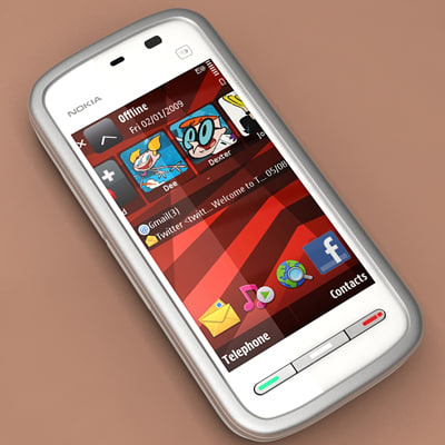 3d model phone