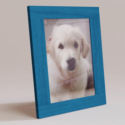 obj wooden picture frame