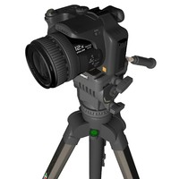 camera velbon 3d obj