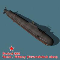 3ds 885 class yasen russian