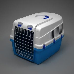 pet box transport 3d model
