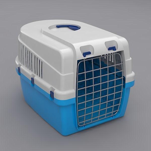 3d pet transport box