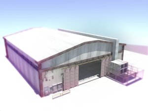maya plane hangar