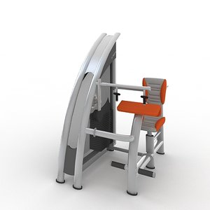 triceps extension 3d model