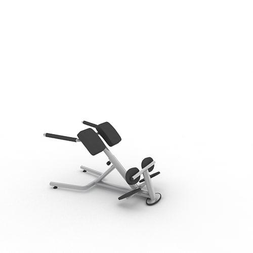 3d model of sport fitness