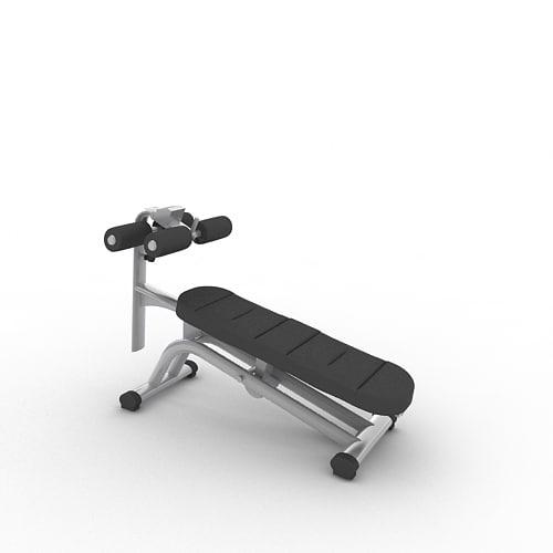 sport fitness 3d model