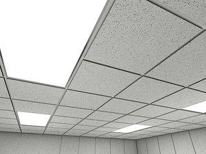 ceiling tiles 2010 - 3d model