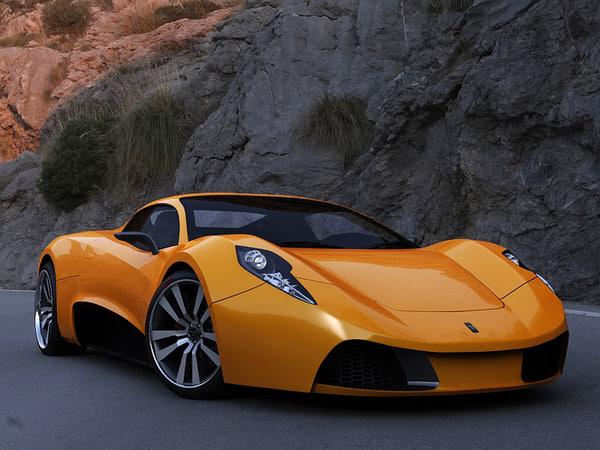 3d model epsilon concept car