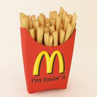 3dsmax fries